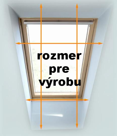zameranie sieť proti hmyzu strešné okno